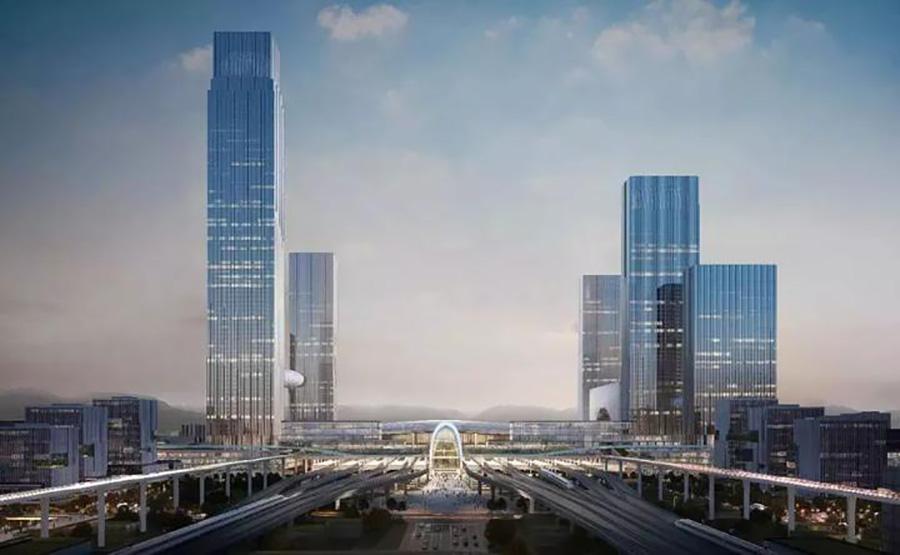 杭州西站枢纽